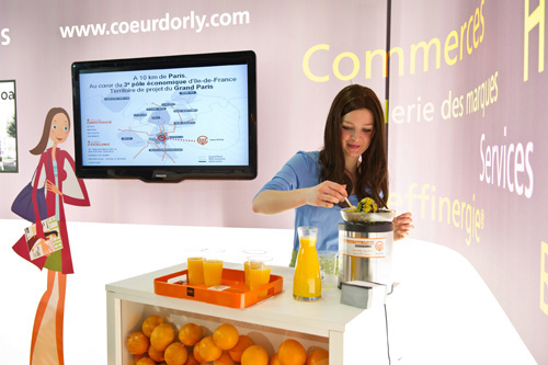 Coeur d'Orly stand Simi 2010 UltraFluide