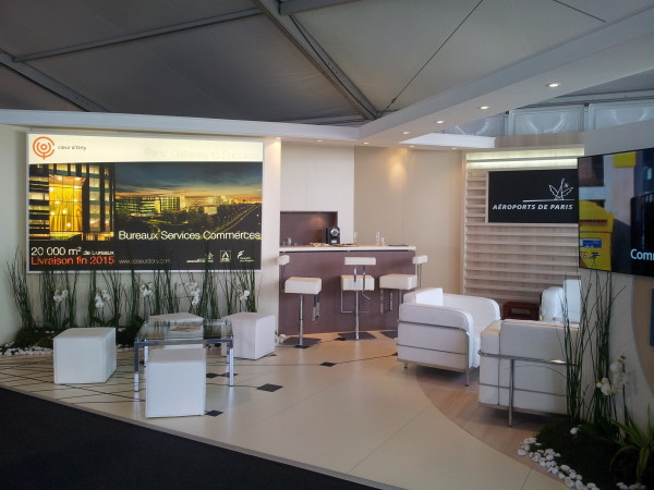Coeur d'Orly stand mipim UltraFluide